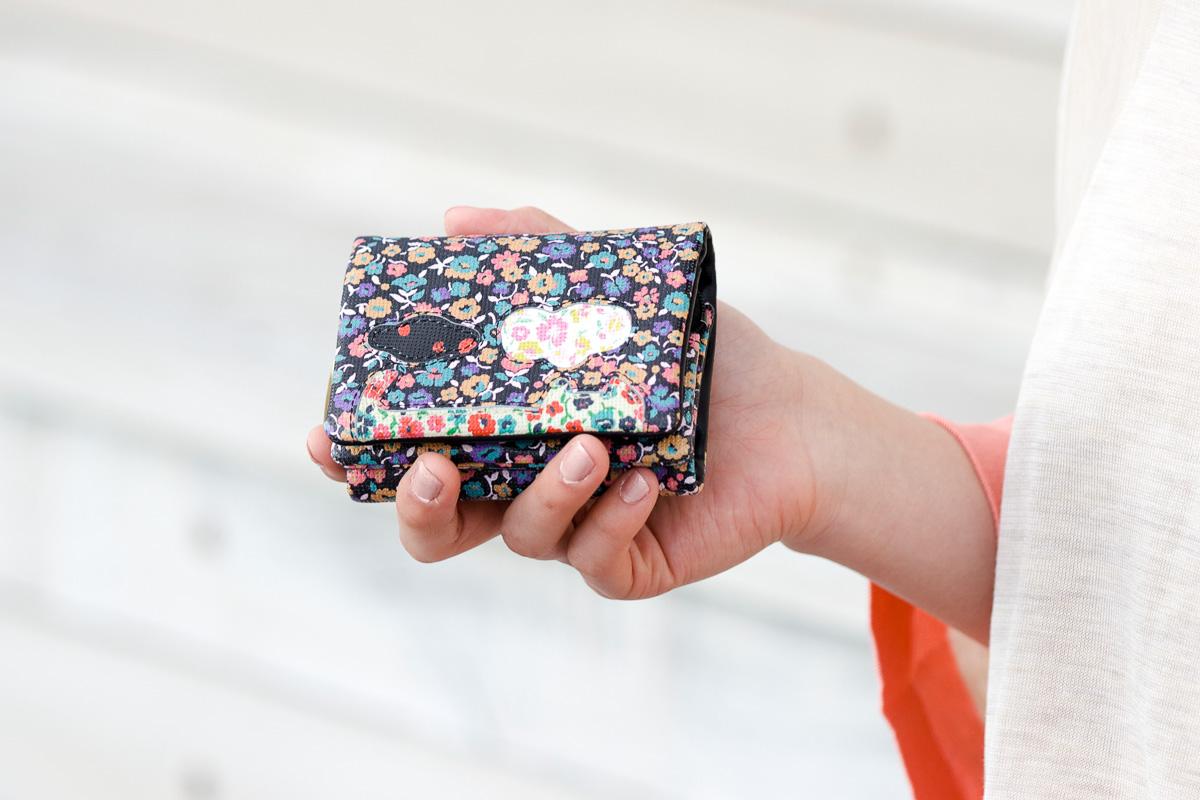 ツモリチサトの財布シリーズ:Flower Neko Puzzle