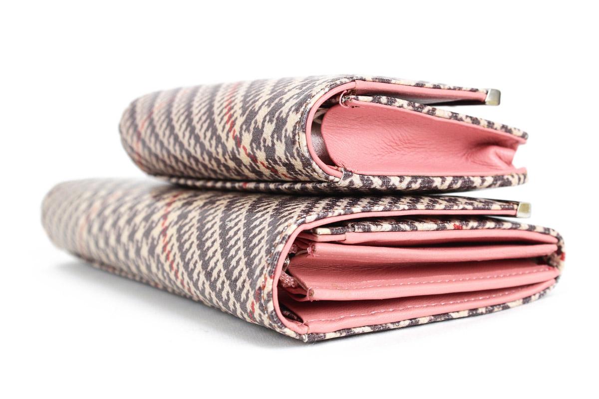 ツモリチサトのバッグシリーズCheck Bias Walleta