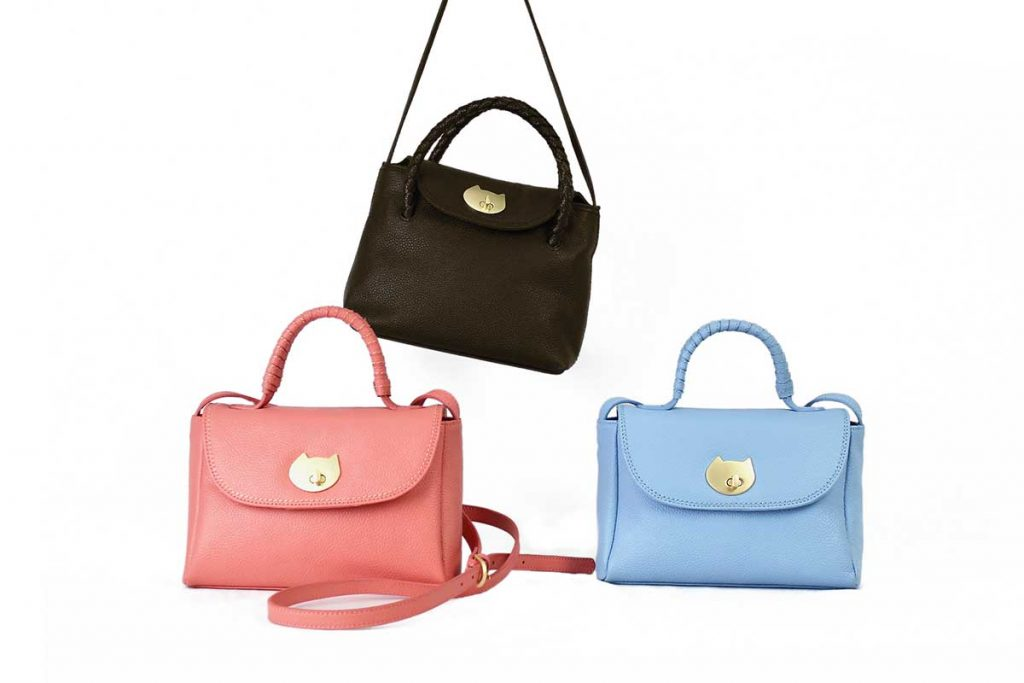 ツモリチサトのバッグシリーズ Neko Hineri