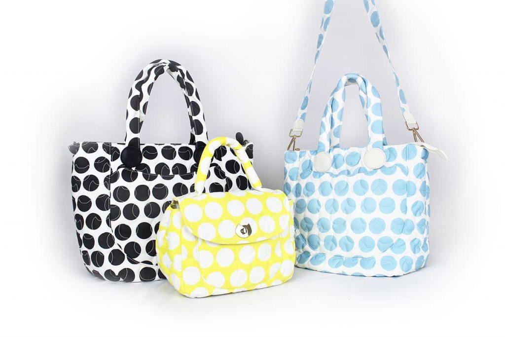 ツモリチサトのバッグシリーズ Nylon Combi Dot