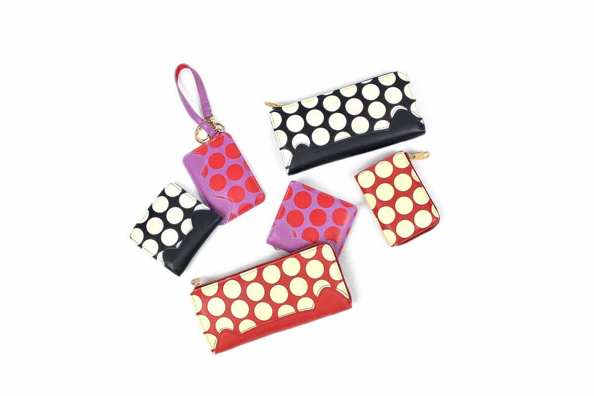 ツモリチサトのバッグシリーズNeko Lamb Dot
