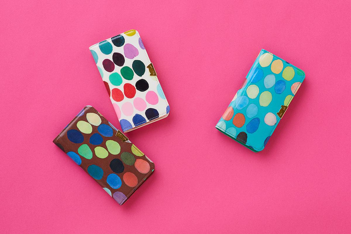 ツモリチサトキャリー iphoneケース スモールマルチドットシリーズ