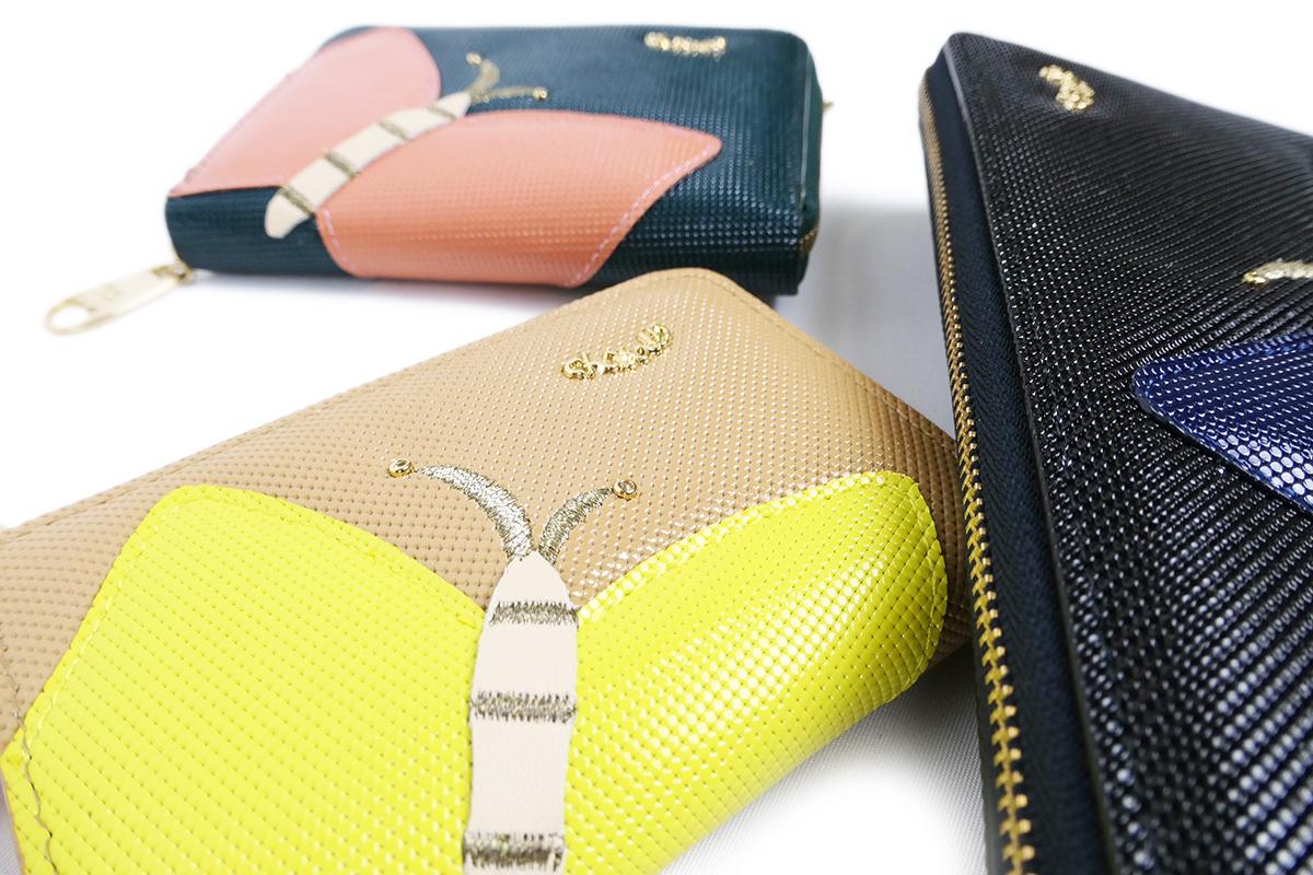 ツモリチサトキャリー 財布 バタフライシリーズ