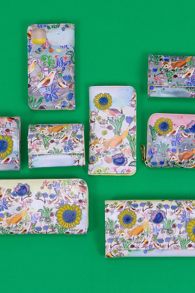 ツモリチサト 財布 ガーデン