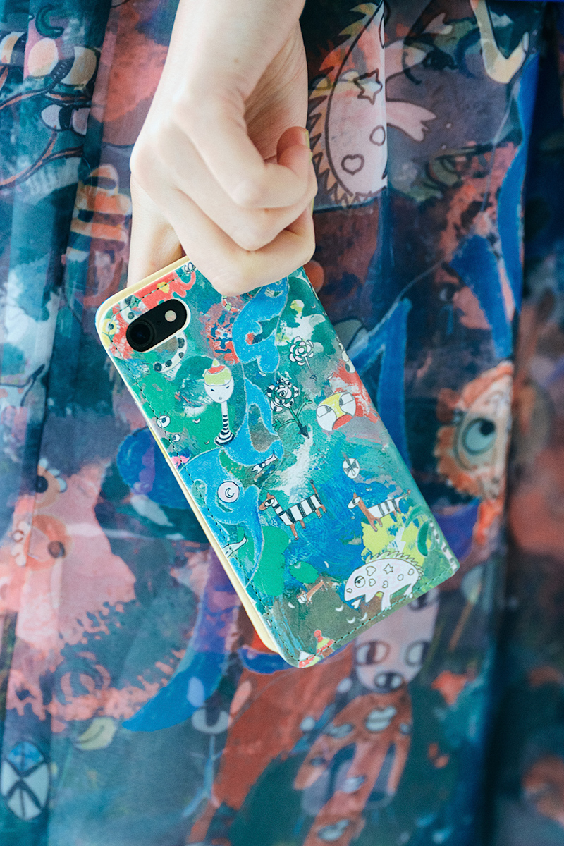 ツモリチサト iphoneケース カモフラージュサファリ